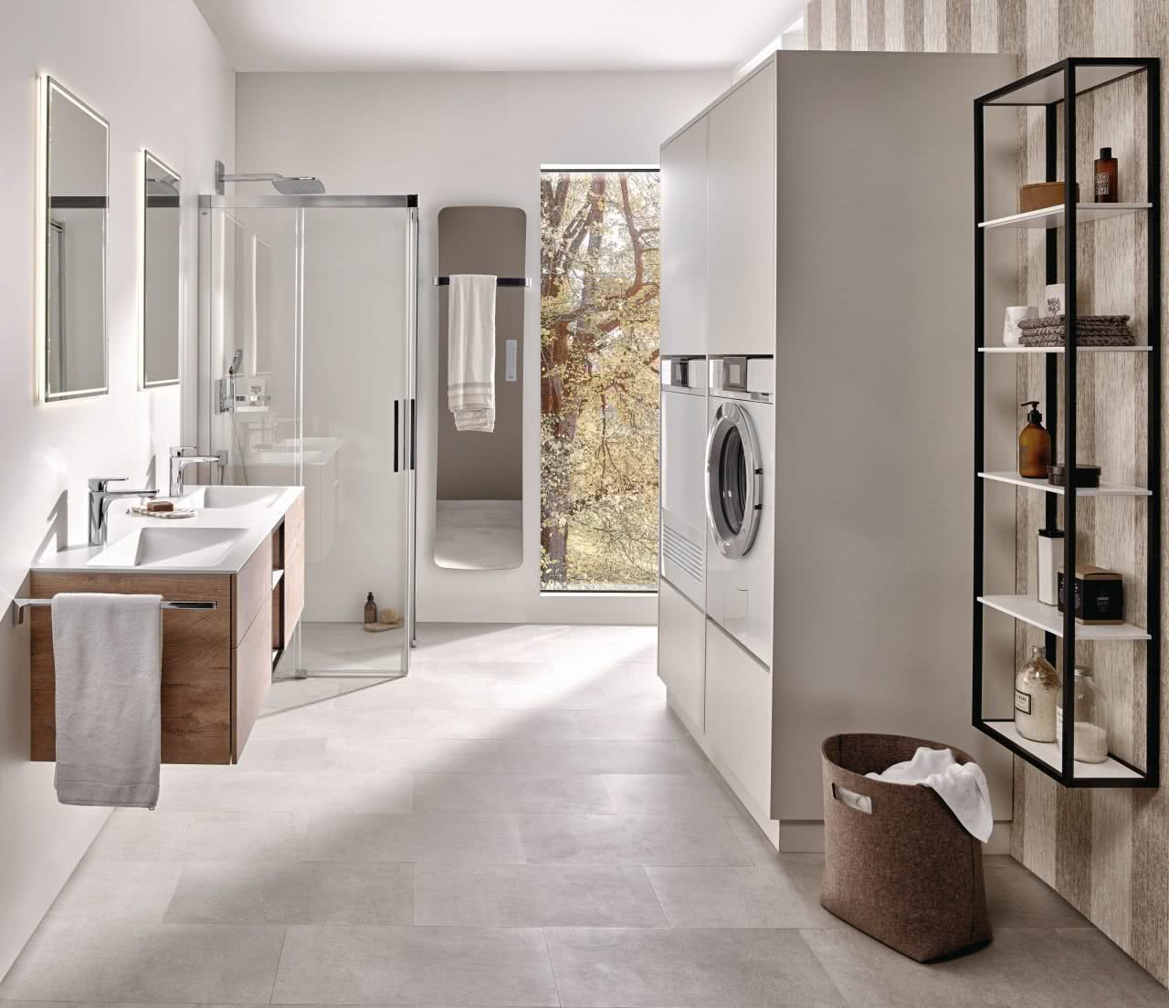 Badezimmer Badewelten Systemlösung Waschturm