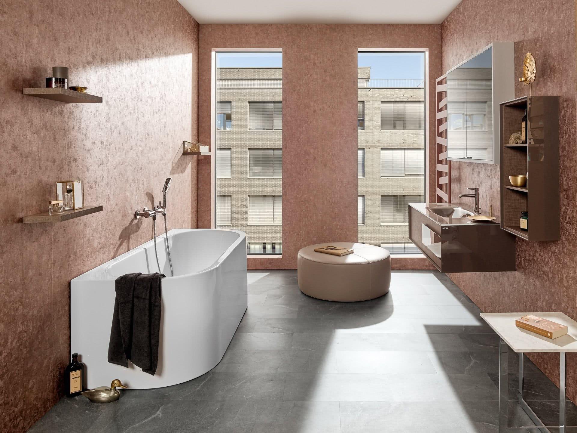 Badezimmer Badewelten Entspannende Wohnatmosphäre 01