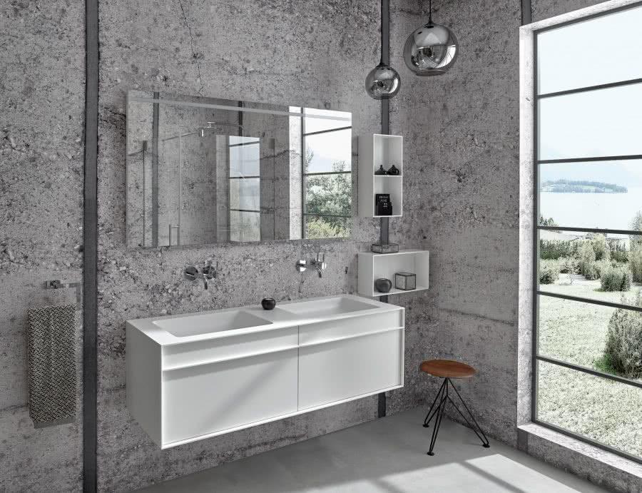Badezimmer Badewelten Exzentrisch Grau 02