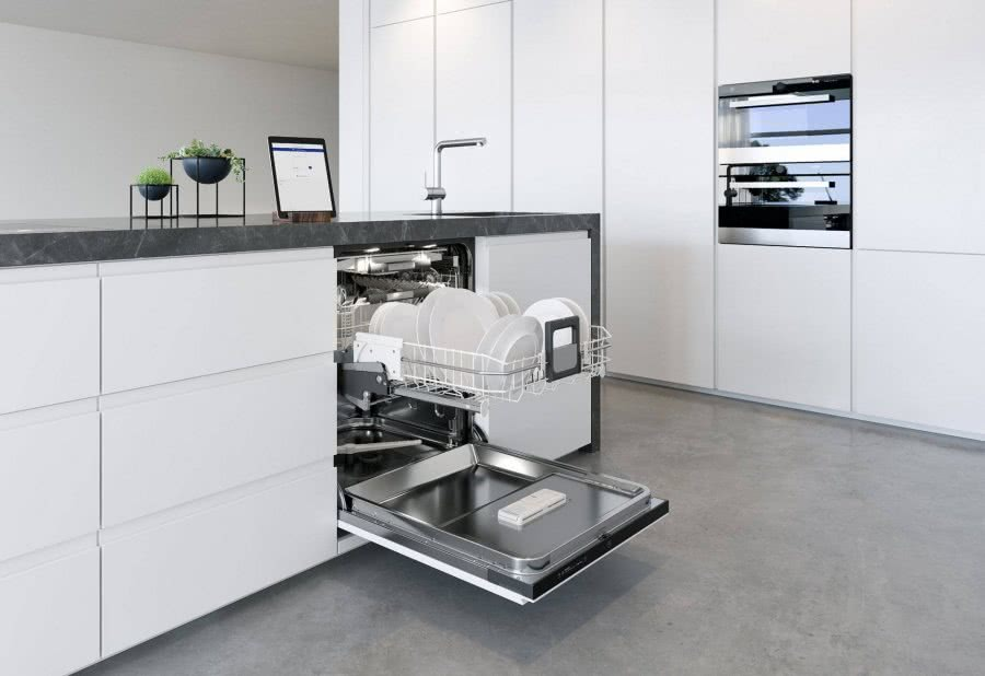 V-ZUG Adora Geschirrspüler standartmässig kommunikationsfähig Highlights BadeWelten