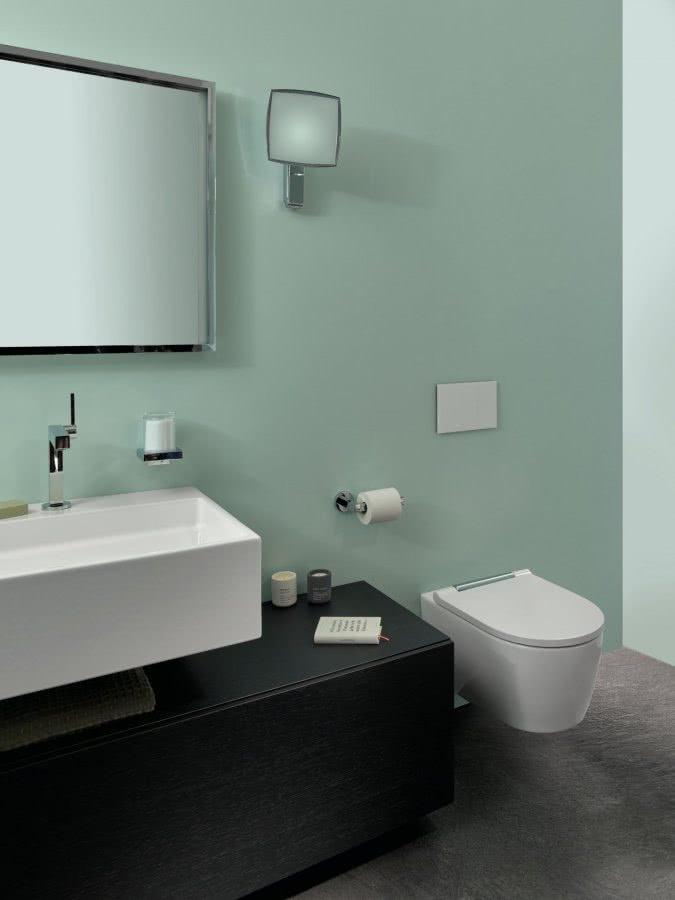 Kleine Bäder ganz gross Waschtisch WC Highlights BadeWelten
