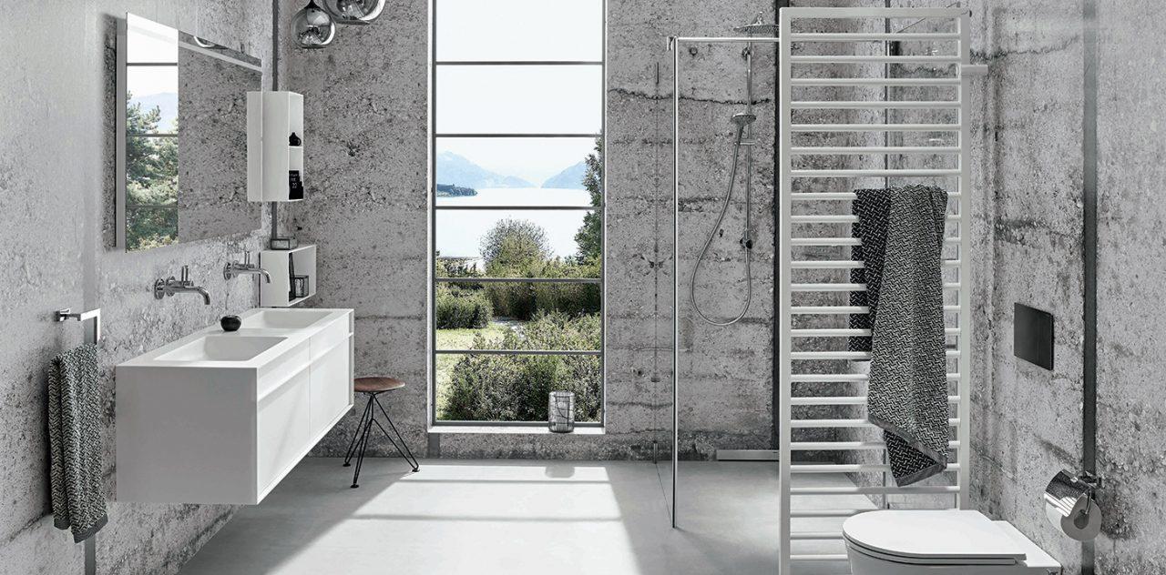 inspirationen schwarz weises bad design, kreative gestaltung von privatbädern - badewelten, Design ideen